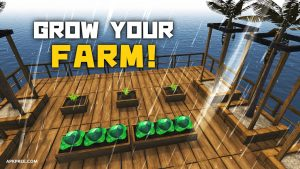 Survival on Raft Crafting in the Ocean mod free Download[Unlimited Weapons] 4