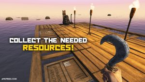 Survival on Raft Crafting in the Ocean mod free Download[Unlimited Weapons] 3