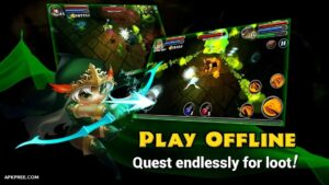 Dungeon Quest MOD APK 3.1.2.1 Download Unlimited Gold For Android 5