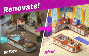 Homescapes Mod Apk 4.7.2 Unlimited Stars And Coins 2021 2