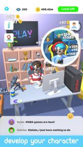 Idle Streamer Mod Apk 1.40 (Unlimited Money & gems) Android 4