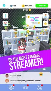 Idle Streamer Mod Apk 1.40 (Unlimited Money & gems) Android 3